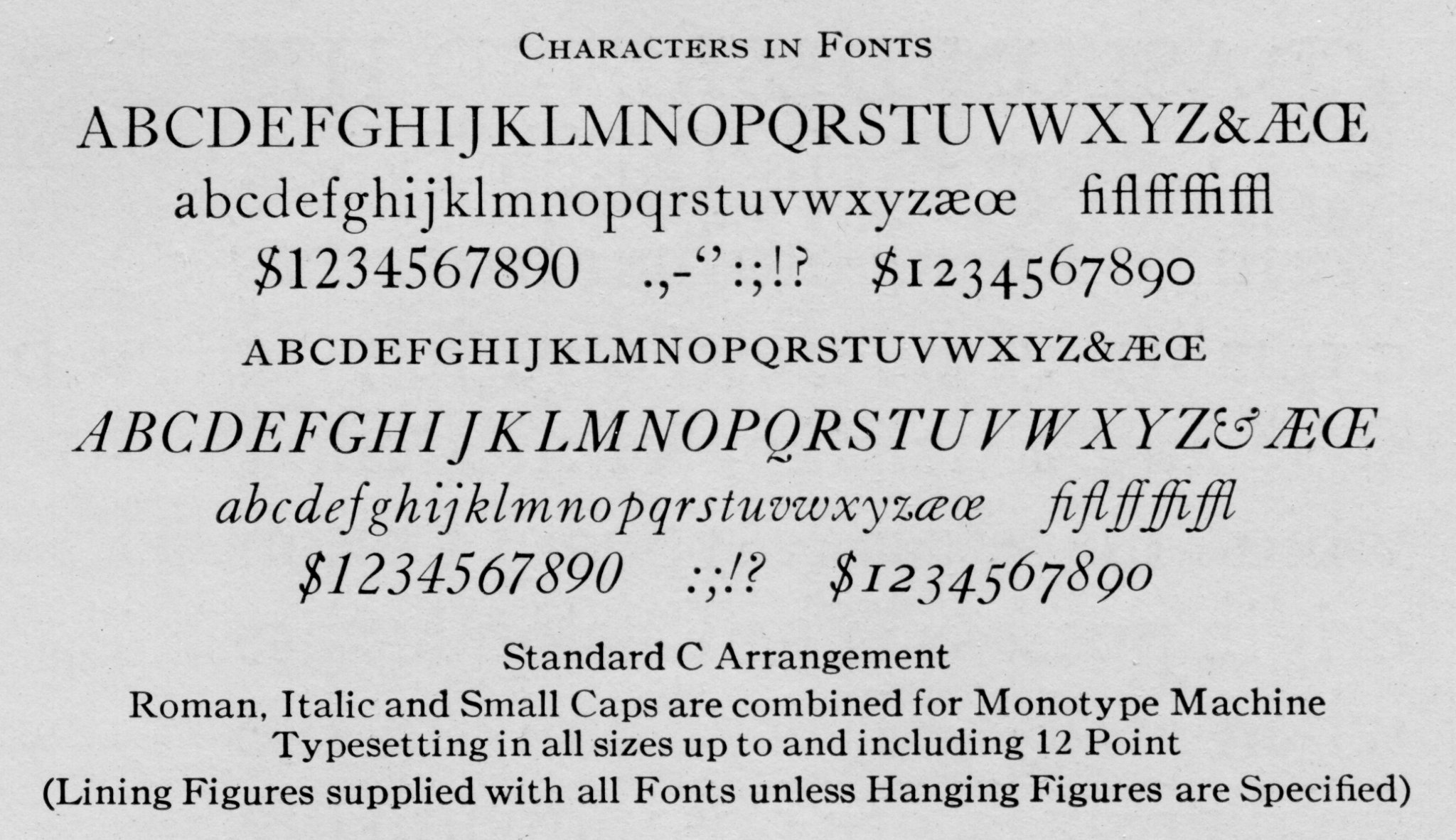 12 top old fonts